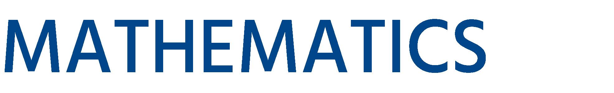 Department of Mathematics - UC Santa Barbara